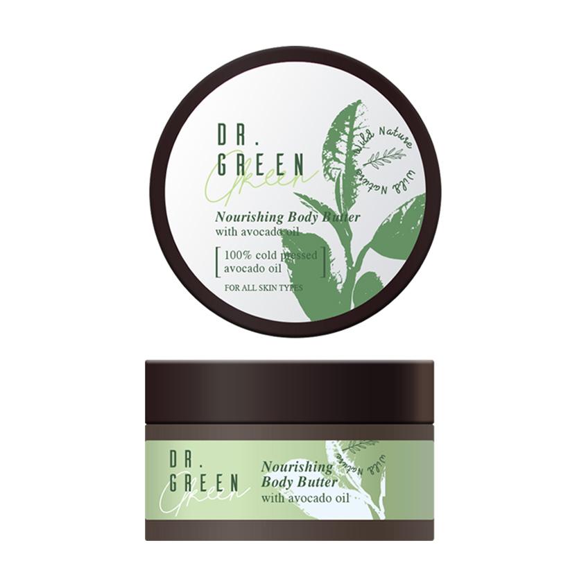 WILD NATURE Питательный крем для тела с маслом авокадо Dr. Green  - Купить