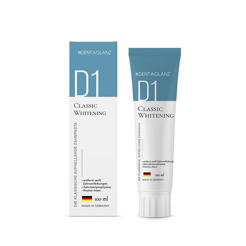 #DENTAGLANZ Зубная паста D1 Classic Whitening
