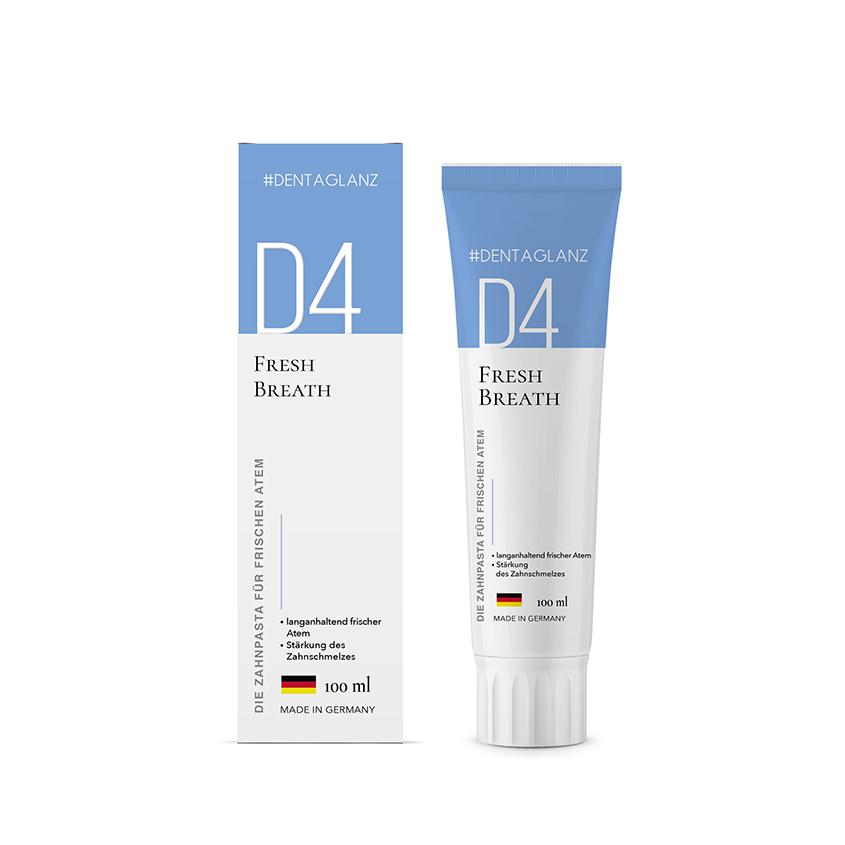 #DENTAGLANZ Зубная паста D4 Fresh Breath
