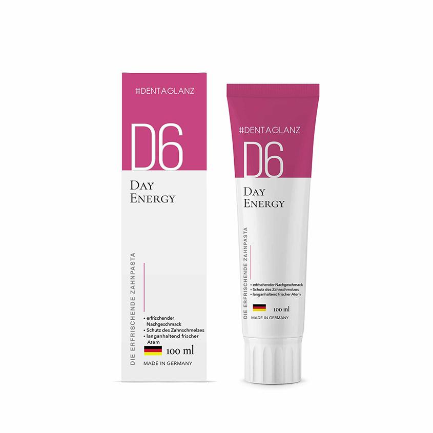 #DENTAGLANZ Зубная паста D6 Day Energy