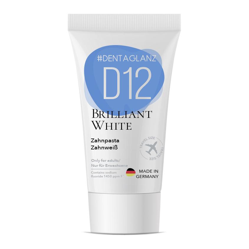 #DENTAGLANZ Зубная паста D12 Brilliant White Toothpaste