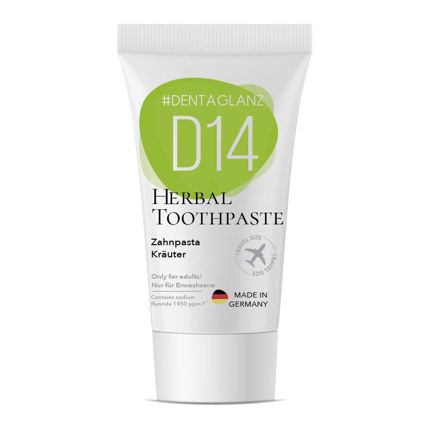 #DENTAGLANZ Зубная паста D14 Herbal Toothpaste