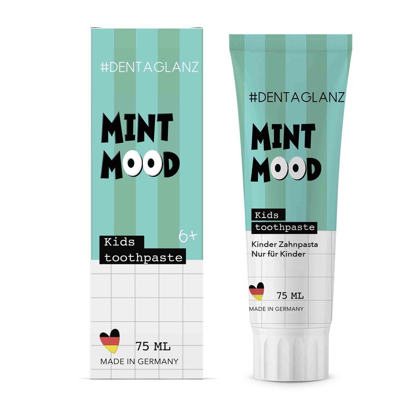 #DENTAGLANZ Детская зубная паста Mint mood