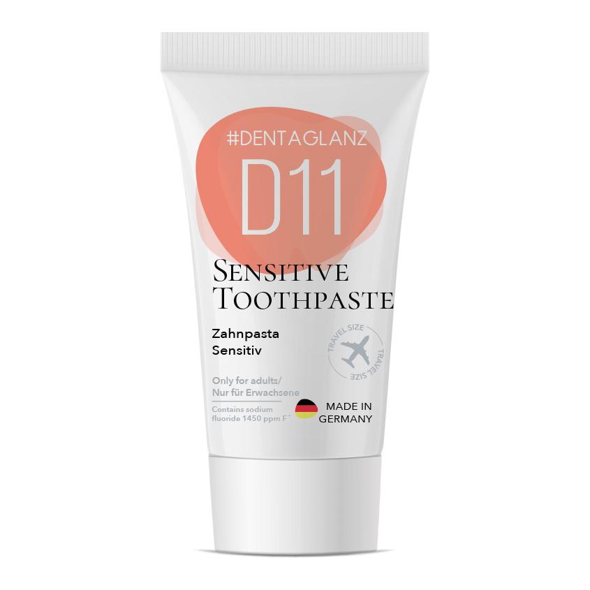 #DENTAGLANZ Зубная паста D11 Sensitive toothpaste