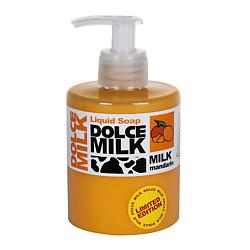 DOLCE MILK Жидкое мыло Молоко и мандарин 300 мл dolce milk dolce milk жидкое мыло молоко и шоколад 300 мл