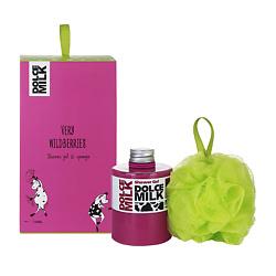 DOLCE MILK Подарочный Набор Молоко и лесная ягода 85 300 мл+1 шт.