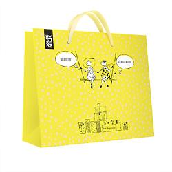 DOLCE MILK Подарочный пакет желтый 1 шт.