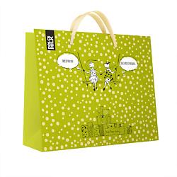 DOLCE MILK Подарочный пакет зеленый 1 шт.