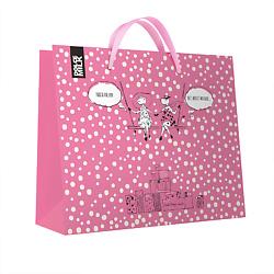 DOLCE MILK Подарочный пакет розовый 1 шт.