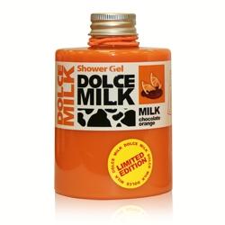 DOLCE MILK Гель для душа Молоко и апельсиновые дольки в шоколаде 300 мл