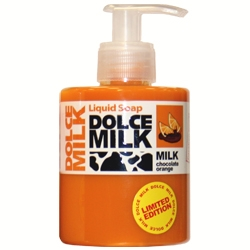 DOLCE MILK Жидкое мыло Молоко и апельсиновые дольки в шоколаде 300 мл