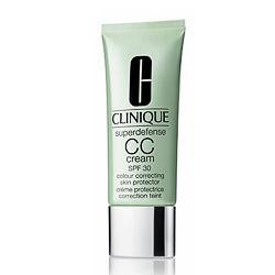 CLINIQUE Защитный крем Superdefense CC Cream SPF30 Light Medium