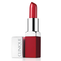 CLINIQUE Помада для губ POP Lip Colour + Primer Wow Pop, 3.5 г