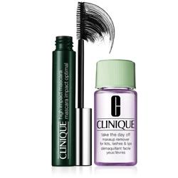 CLINIQUE Набор для макияжа глаз High Impact 7 мл + 30 мл