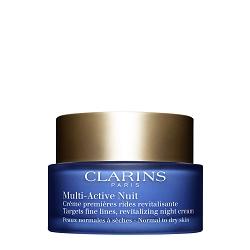 CLARINS CLARINS Ночной крем для предотвращения первых возрастных изменений с обновляющим действием для нормальной и сухой кожи MULTI-ACTIVE 50 мл топ sevona топ