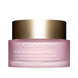 CLARINS ������� ���� ��� �������������� ������ ���������� ��������� � ��������������� ��������� ��� ������ ���� ���� MULTI-ACTIVE SPF 20 50 ��