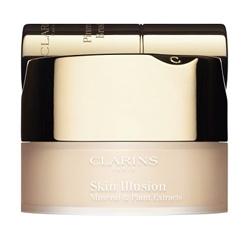 CLARINS Минеральная рассыпчатая пудра Skin Illusion № 107 Beige, 13 г