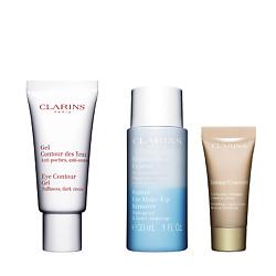 CLARINS Набор средств ухода за кожей вокруг глаз Contour des Yeux 20 мл + 30 мл + № 02 5 мл