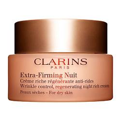CLARINS Регенерирующий ночной крем против морщин для сухой кожи Extra-Firming 50 мл clarins extra firming 3ml