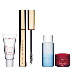 CLARINS Набор средств для макияжа глаз Wonder Perfect 20 мл + 7 мл + 4 мл + 30 мл