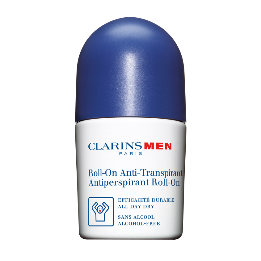 CLARINS Шариковый дезодорант-антиперспирант для мужчин Anti-Transpirant Roll-On