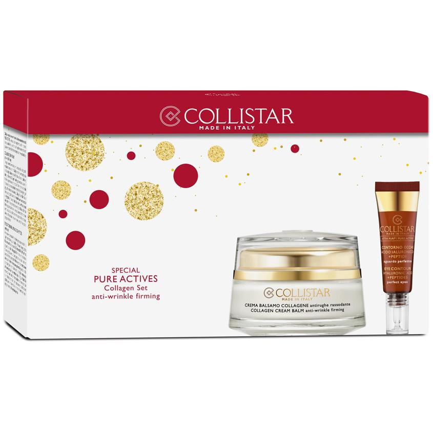 COLLISTAR Набор Крем-бальзам с коллагеном + Средство для кожи вокруг глаз Pure Actives