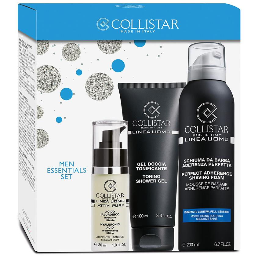 COLLISTAR Набор Гиалуроновая кислота + Пена для бритья + Тонизирующий гель для душа