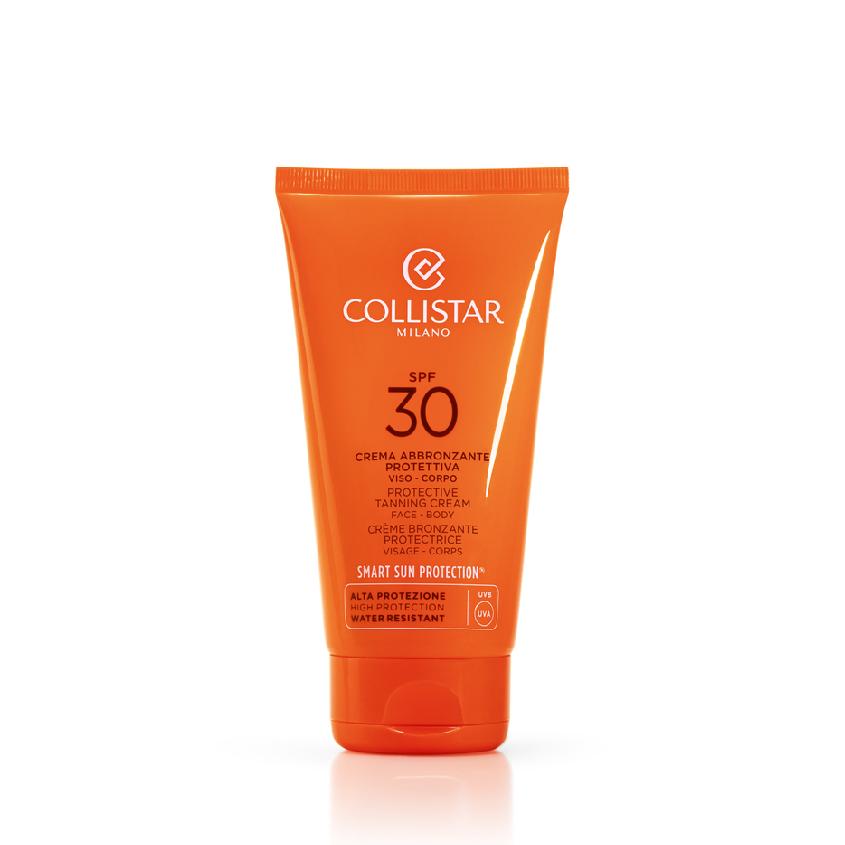 Купить COLLISTAR Интенсивный солнцезащитный крем для загара SPF 30 для лица и тела