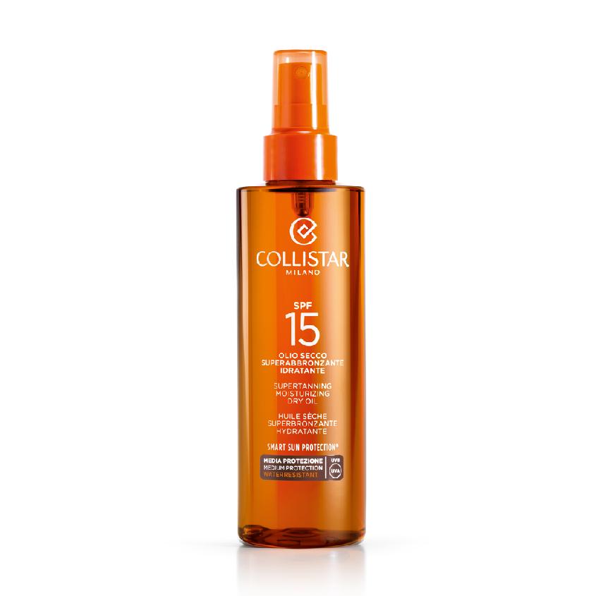 COLLISTAR Масло сухое для интенсивного загара для лица-тела-волос SPF15