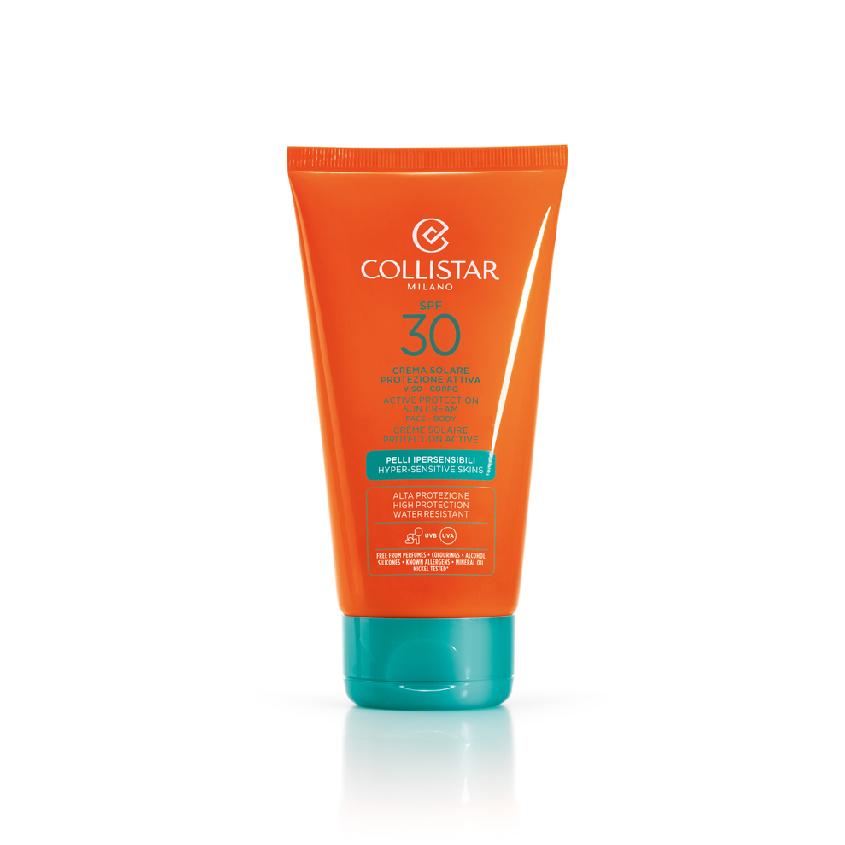 COLLISTAR Активный защитный крем для загара SPF30 для гиперчувствительной кожи  - Купить