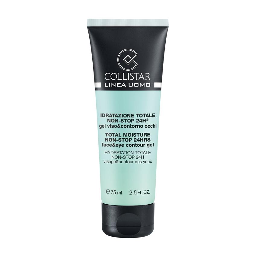 COLLISTAR Гель для лица и кожи вокруг глаз увлажнение нон-стоп 24 часа для мужчин