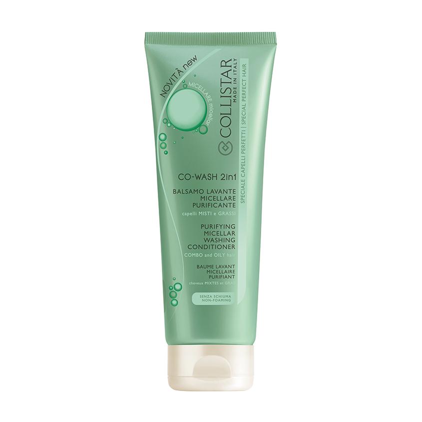 COLLISTAR Шампунь-кондиционер для волос мицеллярный очищающий