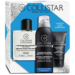 COLLISTAR Набор средств для бритья для мужчин 100 мл + 30 мл + 200 мл набор perfectstyle набор бритье для чувствительной кожи 2 средства