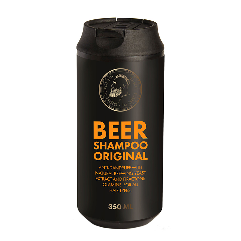 THE CHEMICAL BARBERS Шампунь BEER SHAMPOO ORIGINAL против перхоти THE CHEMICAL BARBERS Шампунь BEER SHAMPOO ORIGINAL против перхоти