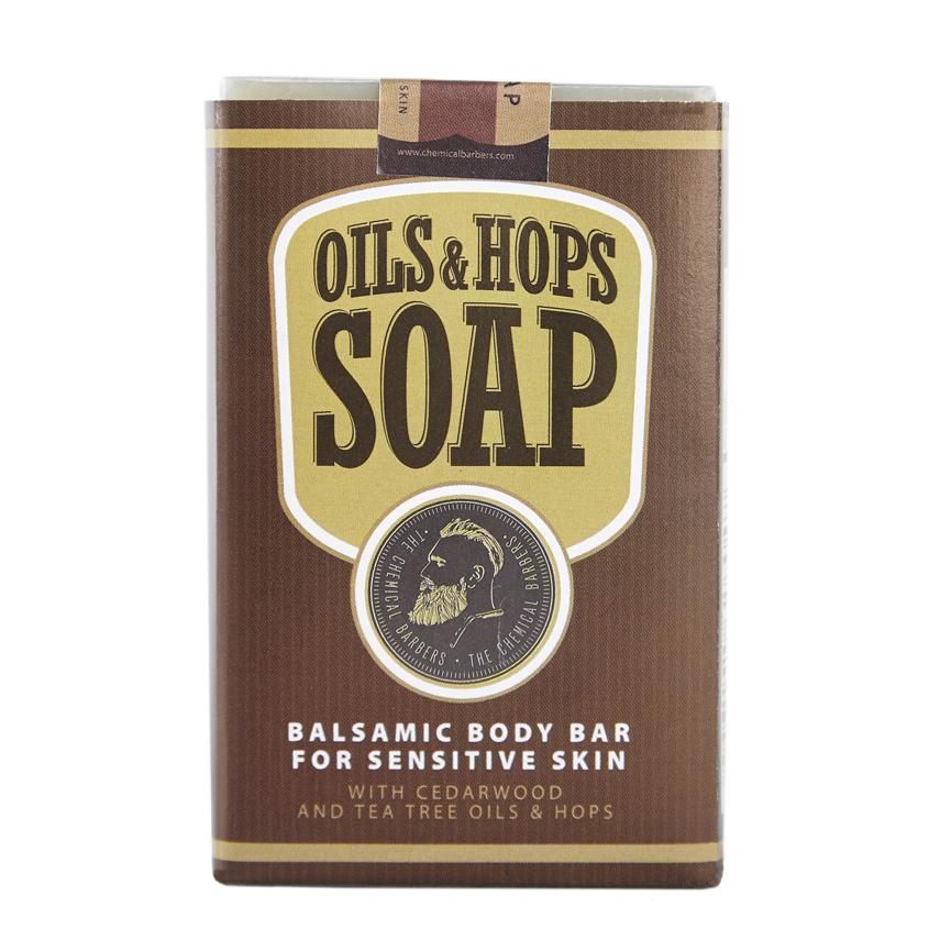 THE CHEMICAL BARBERS Бальзамическое мыло для тела с маслами и хмелем Масло&Хмель