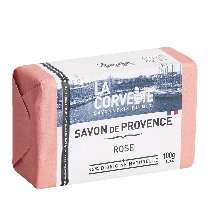 Купить LA CORVETTE Мыло туалетное прованское для тела Роза
