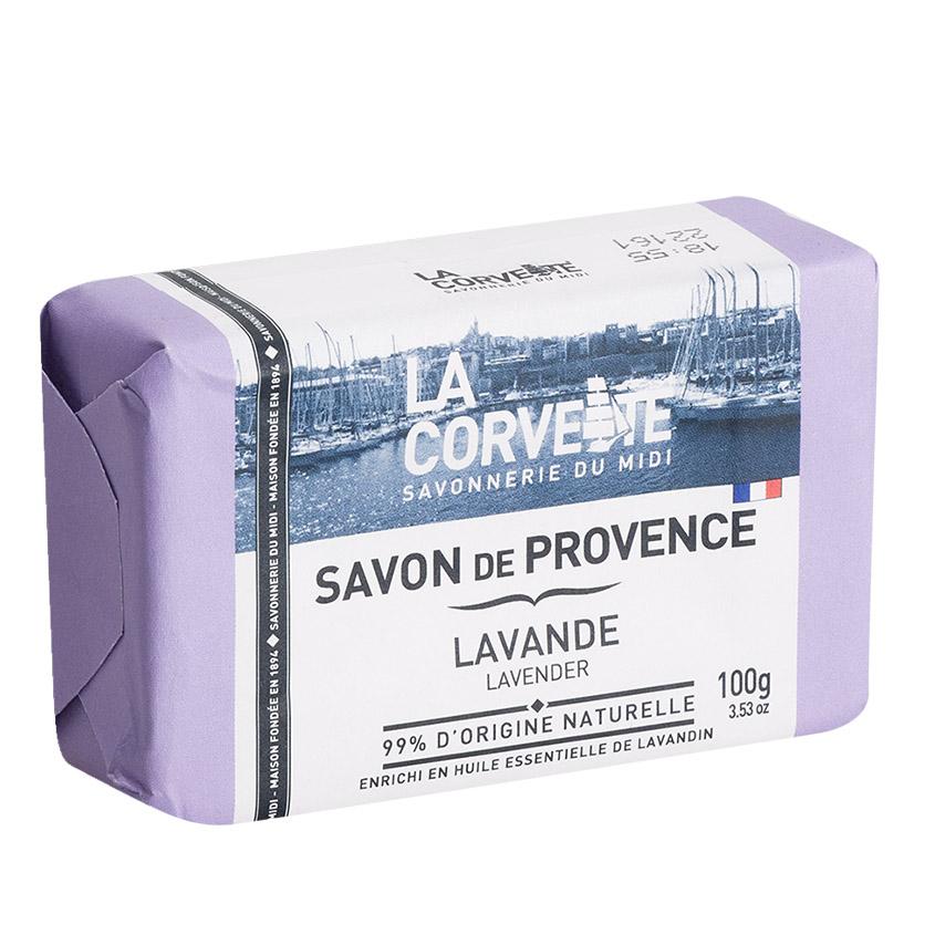 Купить LA CORVETTE Мыло туалетное прованское для тела Лаванда