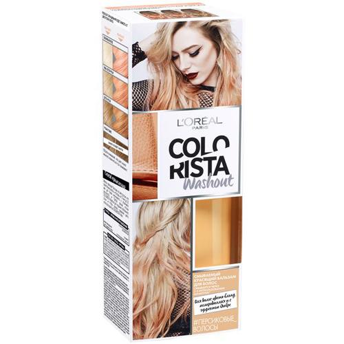 Красящий бальзам для волос лореаль колориста