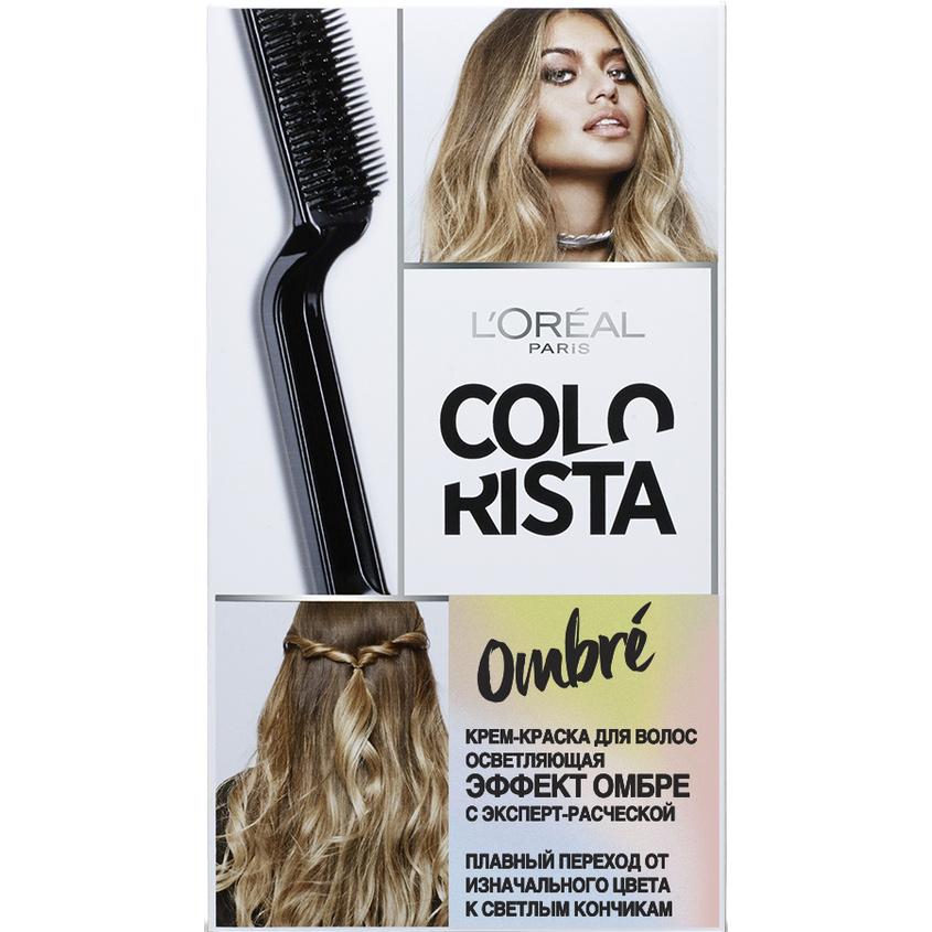 Купить L`OREAL Крем-краска для волос осветляющая Эффект Омбре Colorista Ombre , L'ORÉAL PARIS