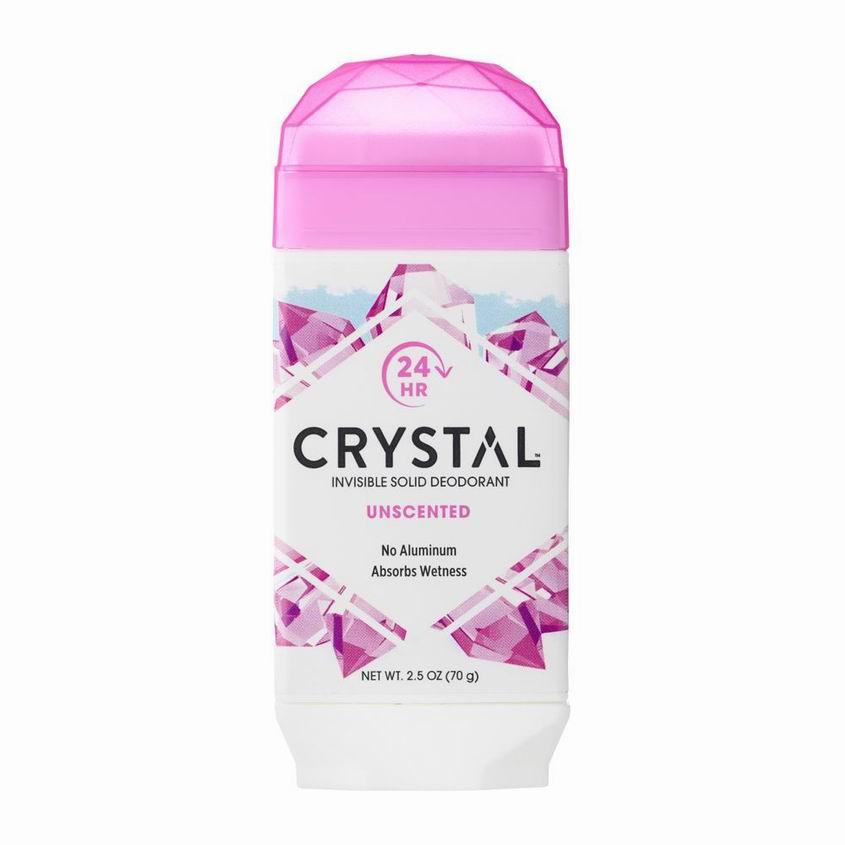 CRYSTAL Дезодорант твердый невидимый без запаха