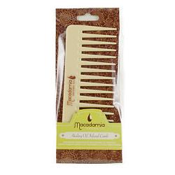 MACADAMIA Гребень для волос, пропитанный маслом арганы и макадамии 1 шт.