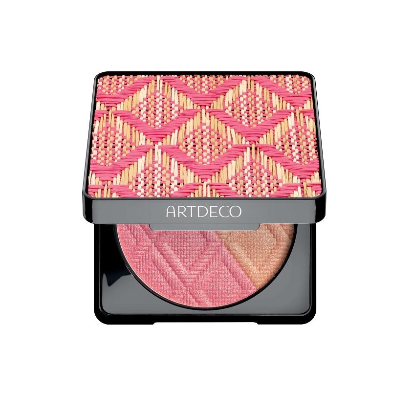 ARTDECO Румяна для лица двухцветные бронзирующие Bronzing Blush Лимитированный выпуск