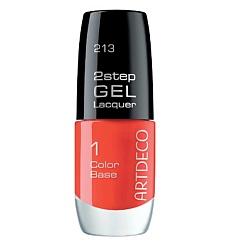 ARTDECO Лак для ногтей 2step Gel Lacquer № 213 artdeco artdeco гель лак для ногтей art couture 637 happy pink 10 мл