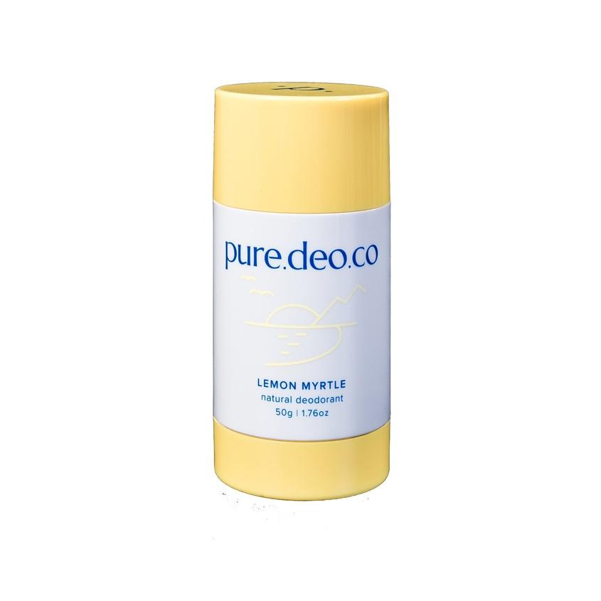 Купить PURE DEO CO Дезодорант-стик без солей алюминия с лимонным миртом