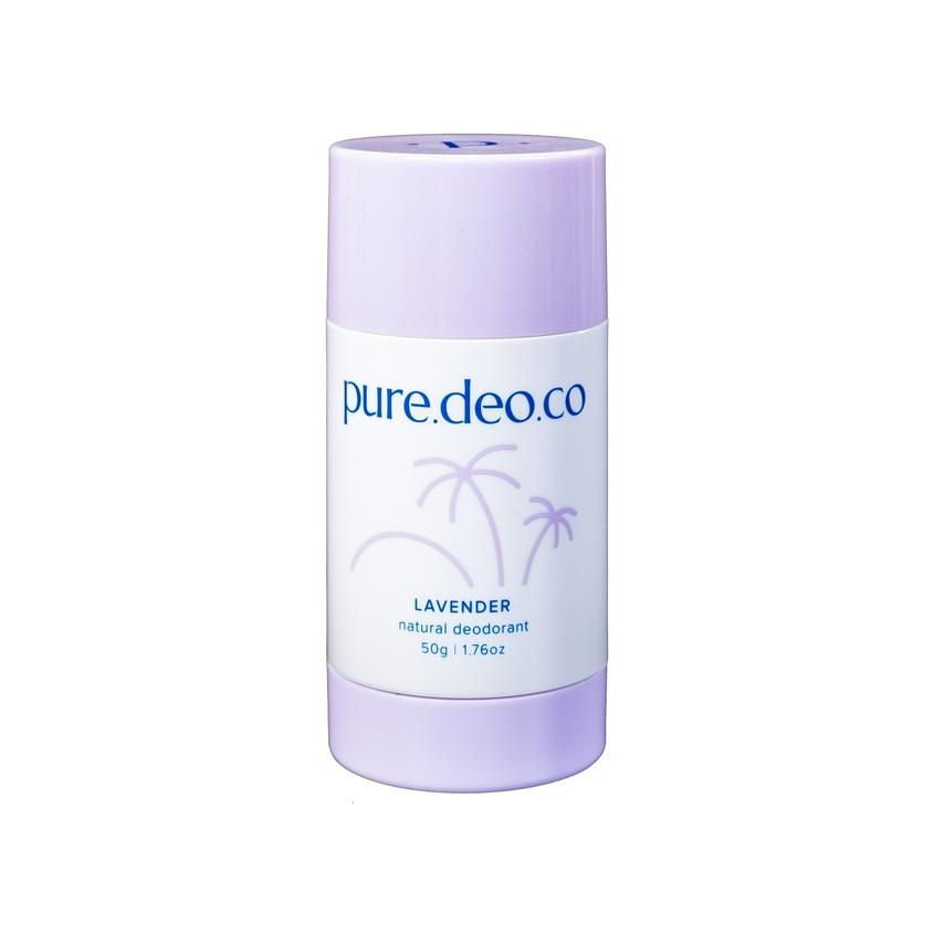 Купить PURE DEO CO Дезодорант-стик без солей алюминия с лавандой