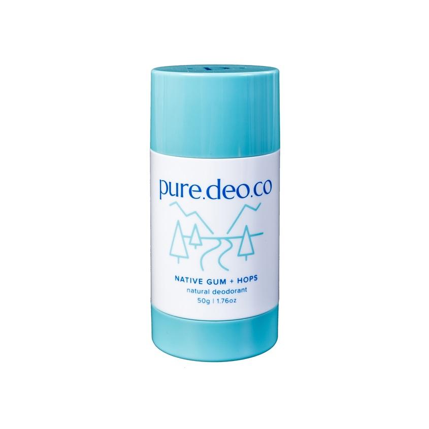 PURE DEO CO Дезодорант-стик без солей алюминия с эвкалиптом и хмелем