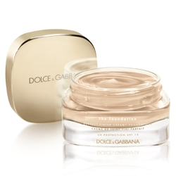 DOLCE  GABBANA MAKE UP Тональный крем Perfect Luminous Creamy Foundation № 80 CREAMY