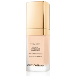 DOLCE GABBANA MAKE UP Матирующий тональный крем Perfect Matte Liquid Foundation № 120 NATRAL BEIGE