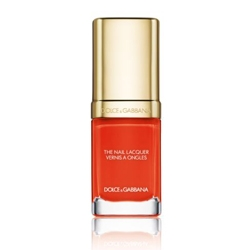 DOLCE & GABBANA MAKE UP Летняя коллекция Summer in Italy 2016 Лак для ногтей Intense Nail Laquer 608 ORANGE