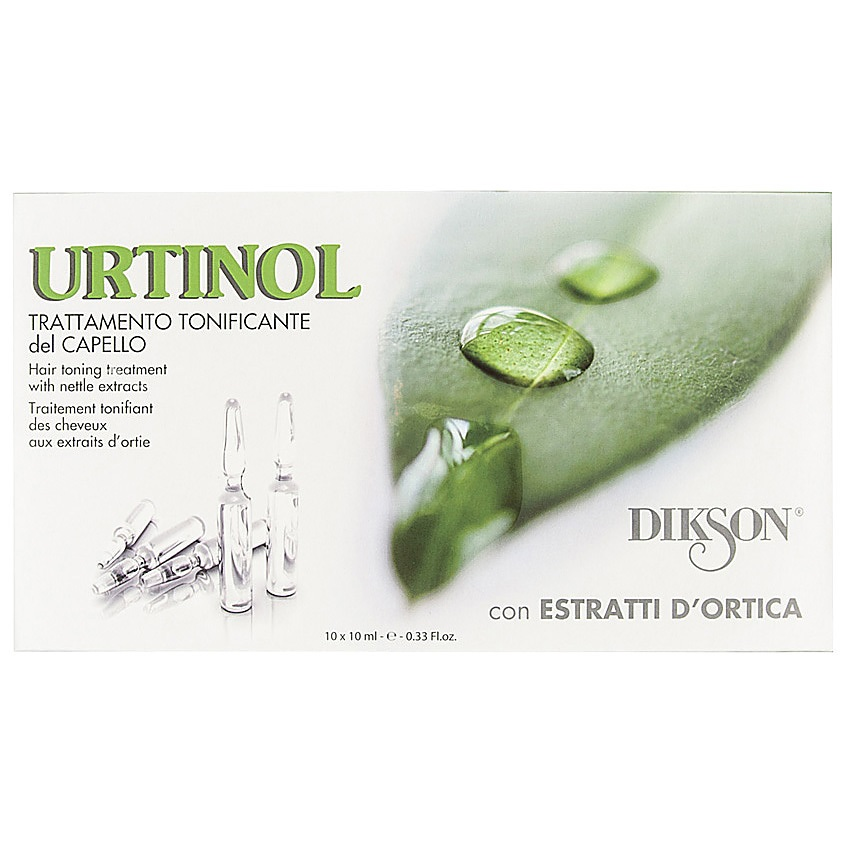 DIKSON Комплекс против жирности кожи головы и себореи тонизирующий с экстрактом крапивы